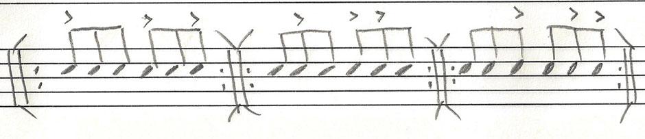 Recipe #2 (Jazz Ride Cymbal Pattern)